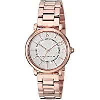 Marc Jacobs Womens Quartz Watch, Analog Display and Stainless Steel Strap MJ3527