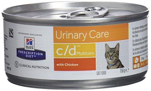 Hills Diet Feline c/d Multicare 24 scatolette da 156 gr