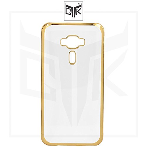 TheGiftKart Golden Border High Quality TPU Soft Back Cover for...