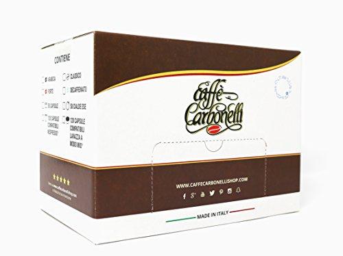 Caffè Carbonelli Capsule Compatibili Nespresso - Pacco da 120 pezzi Miscela Classic