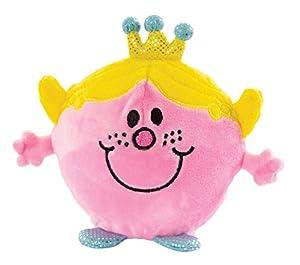 Mr Men Little Miss 1034 Little Miss Princess Easy Squeezie - Peluche de Espuma viscoelástica, Color Rosa