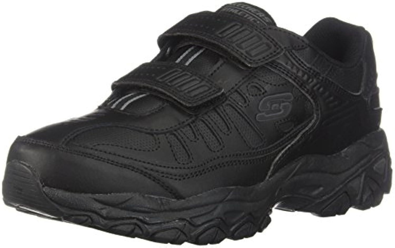 Skechers Sport ¨ Afterburn Grà ve Memory Foam Sneaker gancho y hebilla