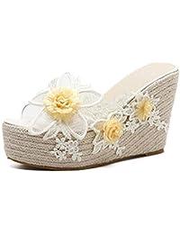a20e65b295a Amazon.es  Bordado Para Flores - Zapatos para mujer   Zapatos ...