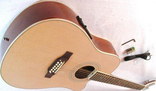 cherrystone 4260180886146–12Corde Western della chitarra con pick-up/EQ Natura