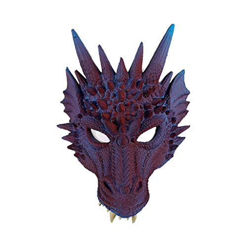 Gruselig Jackolantern Erwachsene Kostüm - TIREOW Halloween Cosplay Unheimlich Maske, Gruselige