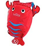 Trunki Lobster Paddle Pak Water Resistant Backpack, Red
