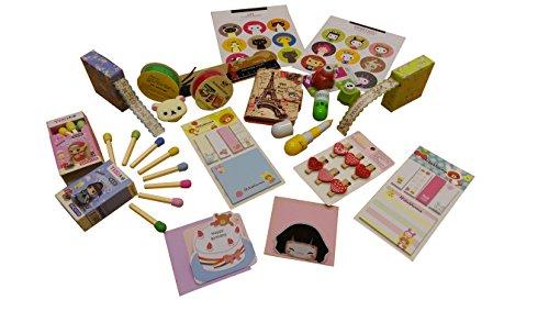 Süßes Schreibwaren-Set Zubehör Set, mit Kawaii Rilakkuma)