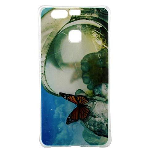 Momoxi Phone Accessory Huawei Handyhülle Handy-Zubehör Gummi Gemustert Silikon Klar Weichen TPU Niedlichen Rückseitigen Cover Fall für Huawei P9 lite hülle