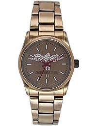 Zadig & Voltaire  - Reloj de cuarzo para mujer, correa de acero inoxidable color beige