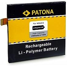 PATONA Batería BL-T9 BLT9 para LG Nexus 5 D820 D821