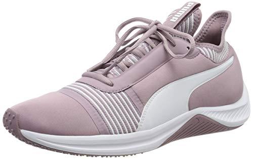 Puma Damen AMP XT WN's Fitnessschuhe, Rosa (Elderberry-Puma White), 40 EU