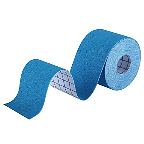 Kinesiology Tape, OMorc Elastic Kinesiology Therapeutic Tape, 5m x 5cm Waterproof Sports Injury Tape, Perfect for Muscle Recovery -