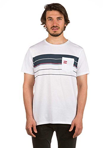 Herren T-Shirt Billabong Spinner T-Shirt White
