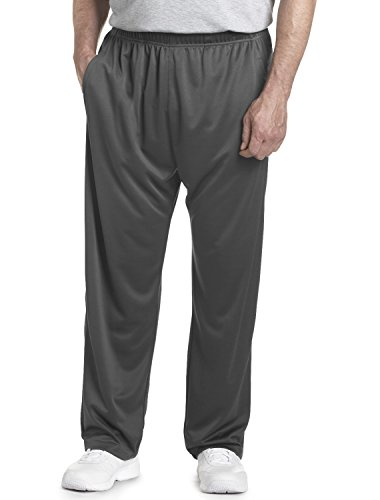 Reebok Big & Tall Play Dry Knit Pants, Herren, graphit (Reebok Play Dry)