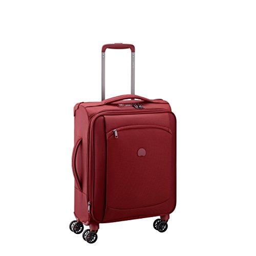 DELSEY PARIS MONTMARTRE AIR Equipaje de mano, 55 cm, 37 liters, Rojo (Rouge)