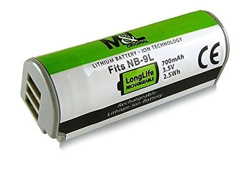 Akku / Batterie wie NB-9L für Canon IXUS 500 HS | 510 HS | 1000 HS | 1100 HS - PowerShot ELPH 510 HS | ELPH 520 HS | ELPH 530 HS | PowerShot N | SD4500