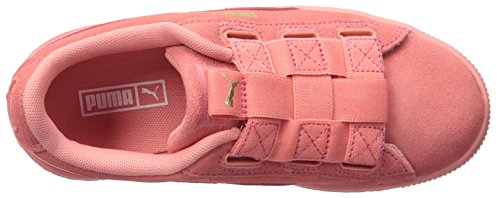 PUMA Baby Suede Maze Pull on Sneaker  Shell Pink-Shell Pink  9 M US Toddler