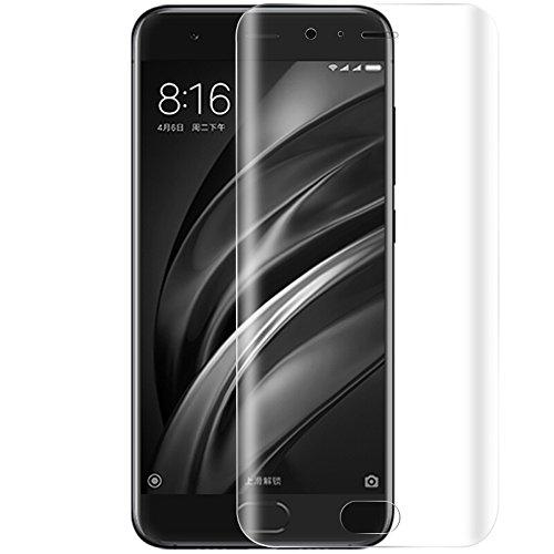 ONICO Folie Für Xiaomi Mi 6 Bildschirm Schutzfolie (Nicht Panzerglas), 3D Selbstheilung Schutzfolie Kompatibel mit Hülle Vollständige Abdeckung (Vorne HD)