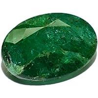 Esmeralda de Pakistán piedra preciosa natural & facettiert 3.02quilates