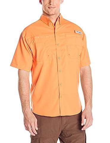 Columbia Men's Tamiami II Short Sleeve Shirt, Koi, petite