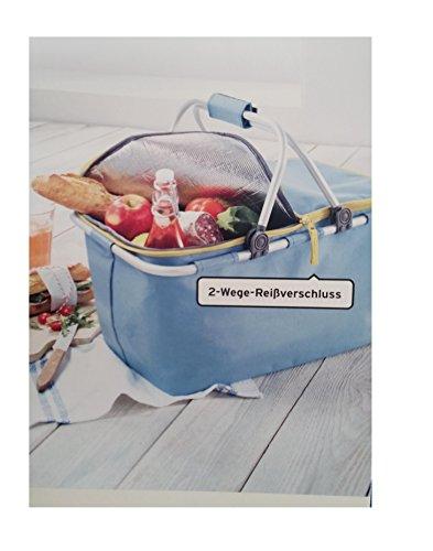 Tchibo TCM Kühltasche Kühlkorb Picknick Tasche Korb Einkaufskorb Shopper