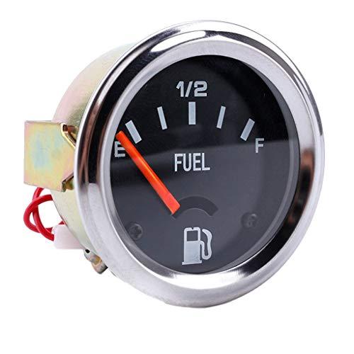 FLAMEER 52mm Boot Marine Universal Tankanzeige Tankuhr Kraftstoffanzeiger für Auto Motorrad