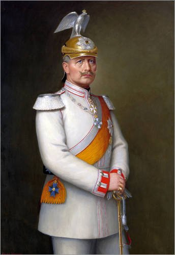 impresion-en-madera-70-x-100-cm-portrait-of-kaiser-wilhelm-ii-de-adolf-emil-hering-artothek