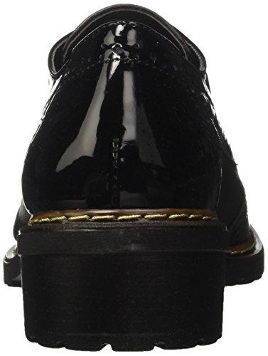 GRÜNLAND Sc3682, Scarpe Stringate Basse Derby Donna Nero