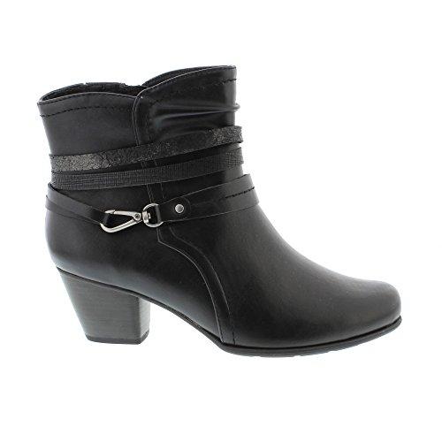 Softline 25360, Bottes Femme Noir (Black)