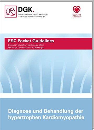 Diagnose und Behandlung der hypertrophen Kardiomyopathie (Pocket-Leitlinien)
