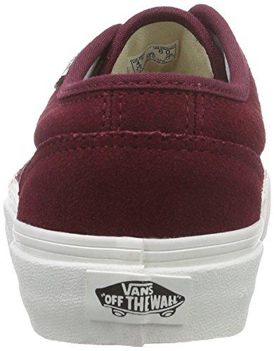 Vans - U 106 Vulcanized Vintage, Sneaker Unisex – Adulto Rosso (Rot ((Vintage) windsor wine/blanc))