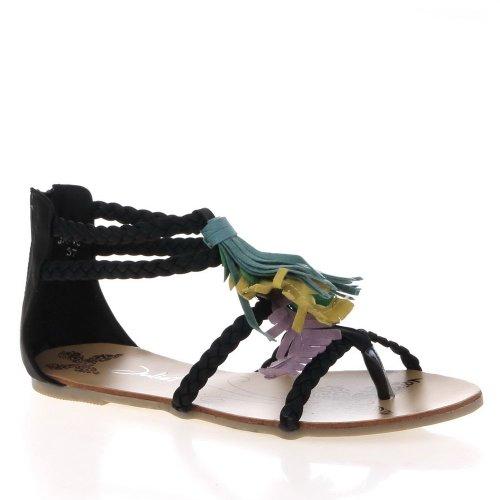 Ital-Design, Sandali donna Nero (nero)