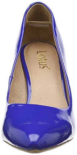 Lotus Blithe Damen Pumps Blue (Electric Blue Shiny)