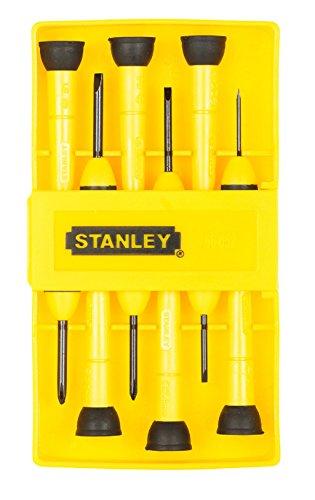 Stanley Handwerkzeuge 6 St-ck Pr-zisions-Schraubendreher-Set 66-052