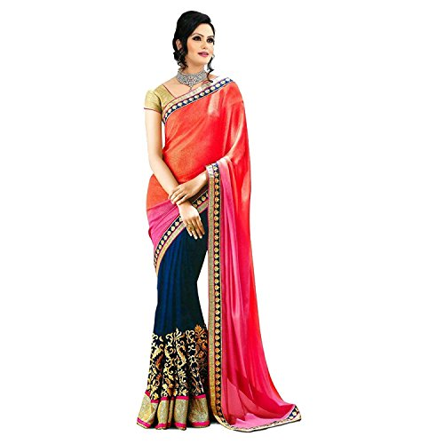 Saree(Salwar Villa Saree For Women Party Wear Half Sarees Offer Designer Below...