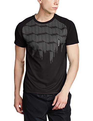 Wildcraft Mens Round Neck Synthetic T-shirt