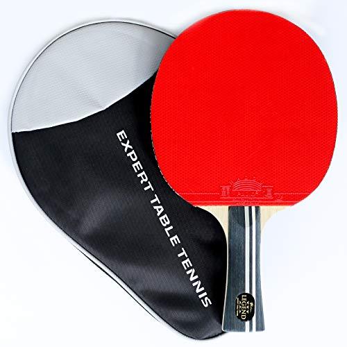 Palio Legend 3.0 Tischtennisschläger mit Tasche, ITTF-geprüft, ausgestellt, für Anfänger, Ping-Pong, Schläger, Paddel