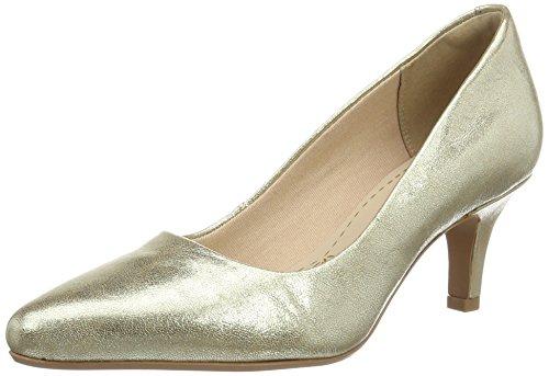 Clarks Damen isidora Faye Pumps, Gold (Champagne), 37.5 EU (Clarks Casual Kleid)