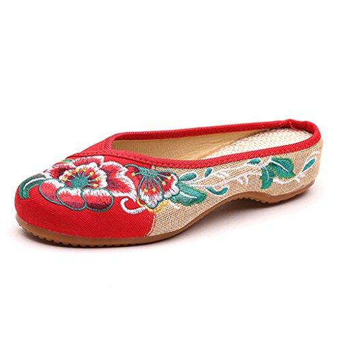 Hishoes - Scarpe Basse Stringate Donna Rot