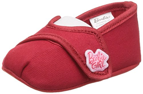 Barbie Baby Girl's Red and Baby Pink Booties - (3-6 months)