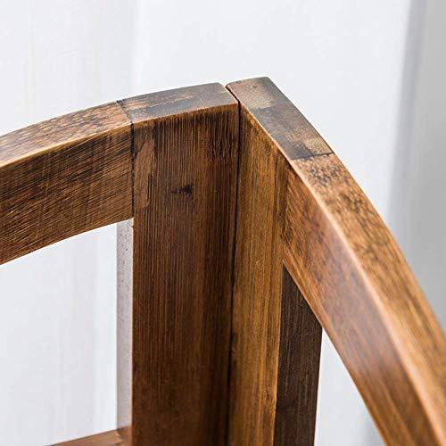 al, bambus eckrahmen eckrahmen blumenständer wohnzimmer schindel stativ bambus rahmen platzsparend und einfach zu installieren,43x66x31cm ()