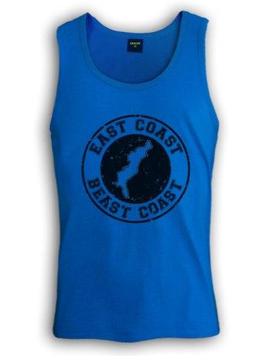 East Coast Beast Coast Tank Top Hellblau