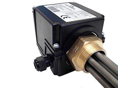 Heizpatrone isoliert 3,0 kW für Pufferspeicher mit Thermostat