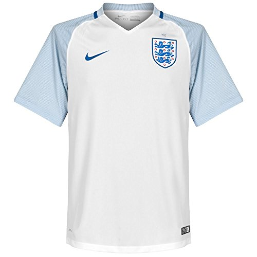 Nike Herren Trikot England Home Stadium Jersey, white/blue grey/sport royal, M, 724610-100