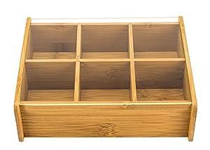 Boîte à Thés -Tisanes Bambou