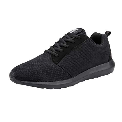 HCFKJ Scarpe Sportive Sneaker Scarpe da Corsa Casual da Uomo in Mesh Traspiranti Scarpe da Marea in Mesh Scarpe Sportive con Fondo Morbido