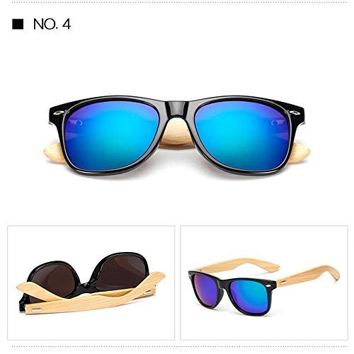 ANSKT Bambusholz Sonnenbrille Klassische Sonnenbrille Beine UV-Schutz