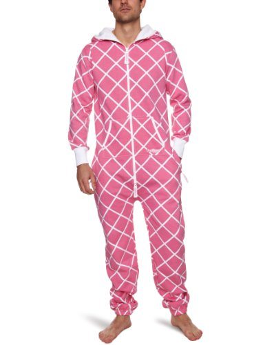 Onepiece Unisex Chess Pink - Rose (New Pink/White)