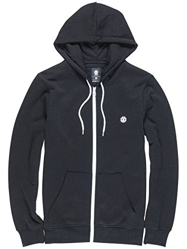 Element Cornell Zip Hoodie Black