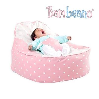 Bambeano® Baby Bean Bag Support Chair - Pink